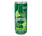 Perrier Lime 330ml. Can
