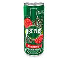 Perrier Strawberry 330ml. Can